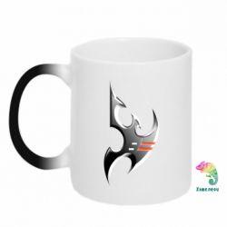 Кружка-хамелеон Protoss Symbol - FatLine