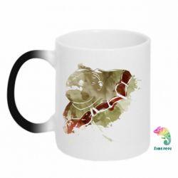 Кружка-хамелеон Pudge Dota 2