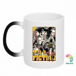 Кружка-хамелеон Pulp Fiction poster - FatLine
