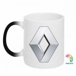 Кружка-хамелеон Renault Logo - FatLine