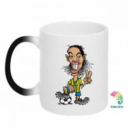 Кружка-хамелеон Ronaldinho - FatLine