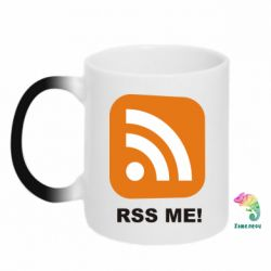 Кружка-хамелеон RSS Me - FatLine