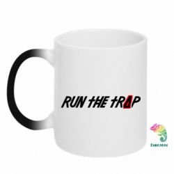 Кружка-хамелеон Run the Trap #