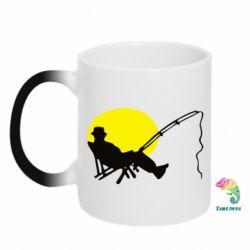 Кружка-хамелеон Рыбак