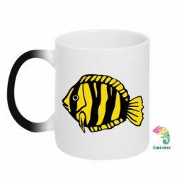 Кружка-хамелеон рибка - FatLine