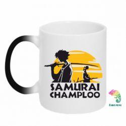 Кружка-хамелеон Samurai Champloo - FatLine