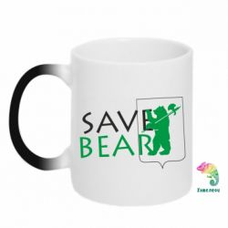 Кружка-хамелеон Save Bears - FatLine
