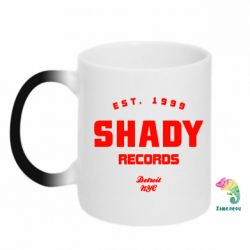 Кружка-хамелеон Shady Records