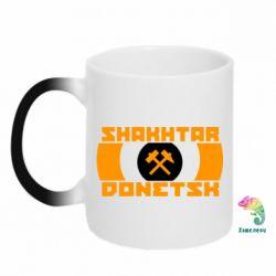 Кружка-хамелеон Shakhtar Donetsk - FatLine