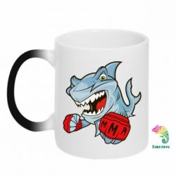 Кружка-хамелеон Shark MMA - FatLine