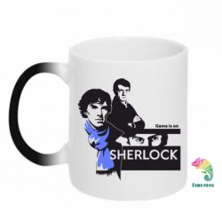 Кружка-хамелеон Sherlock (Шерлок Холмс)