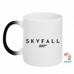 Кружка-хамелеон Skyfall 007 - FatLine