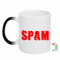 Кружка-хамелеон Spam - FatLine