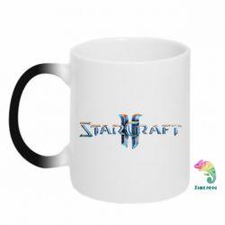 Кружка-хамелеон StarCraft 2 - FatLine