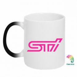 Кружка-хамелеон STI Logo - FatLine