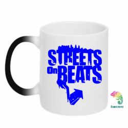 Кружка-хамелеон Streets On Beats - FatLine