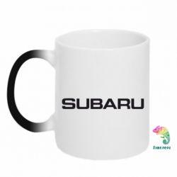 Кружка-хамелеон Subaru - FatLine