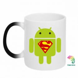 Кружка-хамелеон Super Android - FatLine