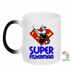 Кружка-хамелеон Super FisherMan