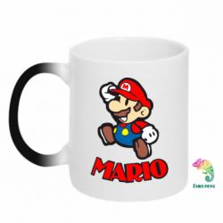 Кружка-хамелеон Супер Марио