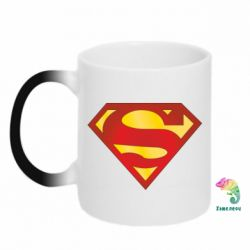Кружка-хамелеон Superman Classic - FatLine