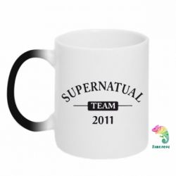 Кружка-хамелеон Supernatural Team