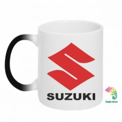 Кружка-хамелеон Suzuki - FatLine
