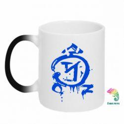 Кружка-хамелеон Сверхъестественное логотип - FatLine