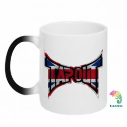 Кружка-хамелеон Tapout England - FatLine