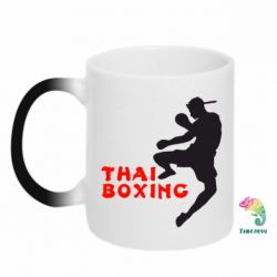 Кружка-хамелеон Thai Boxing