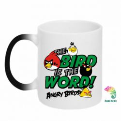 Кружка-хамелеон The bird in world Angry Birds - FatLine