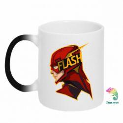 Кружка-хамелеон The Flash - FatLine