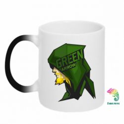 Кружка-хамелеон The Green Arrow