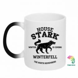 Кружка-хамелеон The North Remembers - House Stark - FatLine
