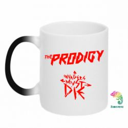 Кружка-хамелеон The Prodigy Invanders Must Die