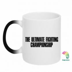Купить Кружка-хамелеон The Ultimate Fighting Championship, FatLine