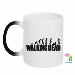 Кружка-хамелеон The Walking Dead Evolution