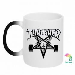 Кружка-хамелеон Thrasher Art - FatLine