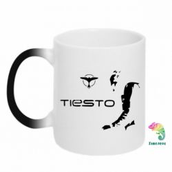 Кружка-хамелеон Tiesto - FatLine