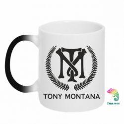Кружка-хамелеон Tony Montana Logo