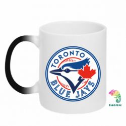 Кружка-хамелеон Toronto Blue Jays - FatLine