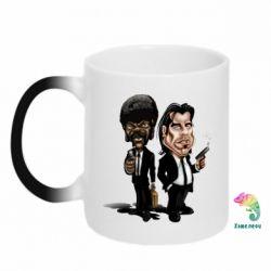 Кружка-хамелеон Travolta & L Jackson