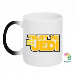 Кружка-хамелеон Trust me, I'm a Jedi - FatLine