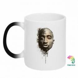 Кружка-хамелеон Tupac Shakur