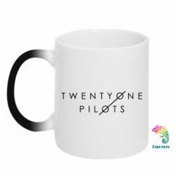 Кружка-хамелеон Twenty One Pilots - FatLine