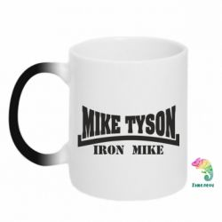 Кружка-хамелеон Tyson Iron Mike - FatLine