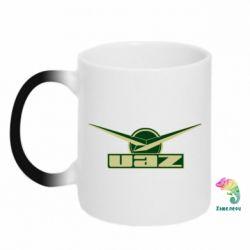 Кружка-хамелеон UAZ Лого - FatLine