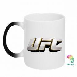 Кружка-хамелеон UFC 3D - FatLine