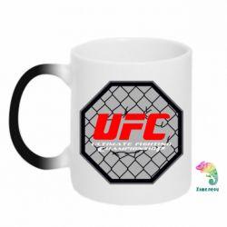 Кружка-хамелеон UFC Cage - FatLine