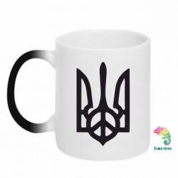 Кружка-хамелеон Ukraine Peace